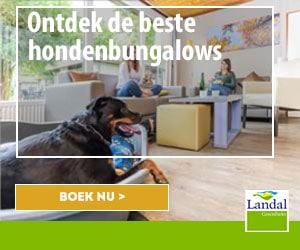 landal hondenbungalows banner